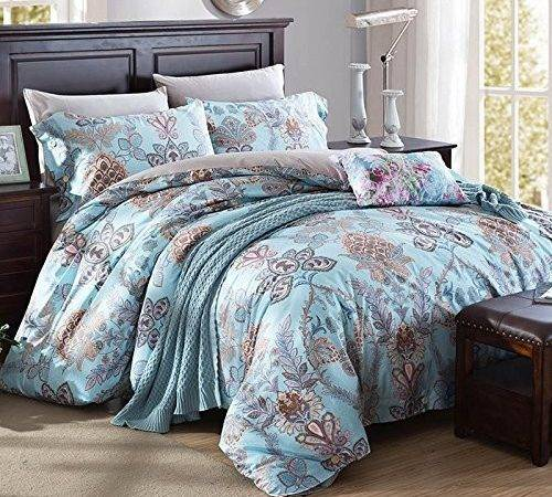 Lelva Bohemian Exotic Colorful Ethnic Style Bedding Sets