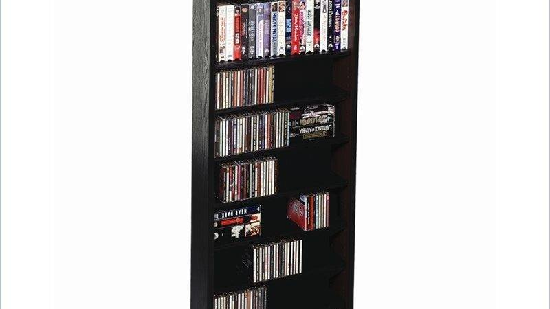 Leslie Dame Deluxe Dvd Multimedia Storage Wall Unit