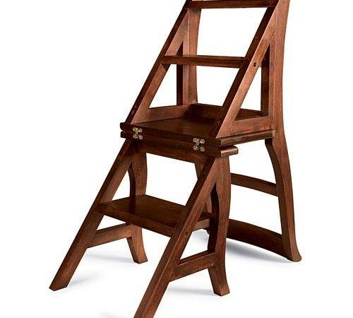 Library Chair Step Ladder Plans