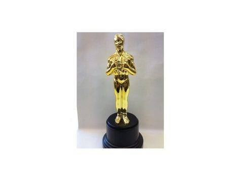 Life Oscar Style Replica Gold Statuette Trophy