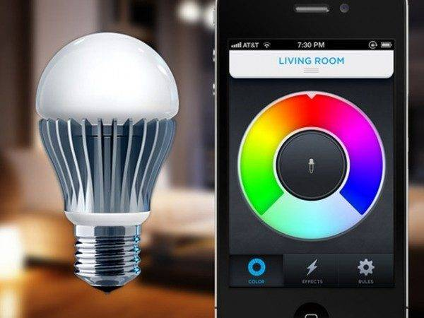 Lifx Enabled Smartphone Controlled Light Bulb