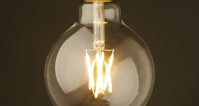 Light Bulbs Awesome Antique Filament Led Design