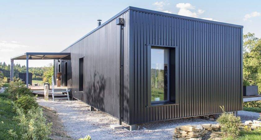 Light Filled Shipping Container Home Artistic