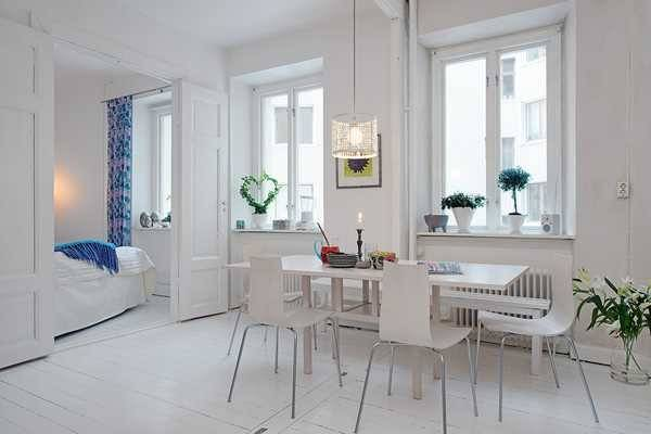 Light Interior Design White Decorating Scandinavian