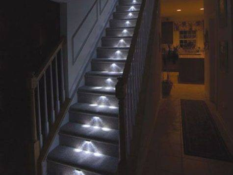 Light Your Stairway Freshome