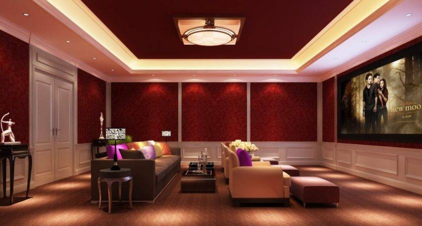 Lighting Design Home Theater House
