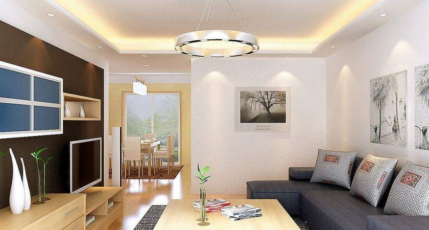 Lighting Design Living Dining Room Country House