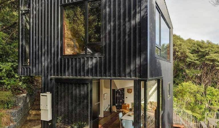 Like Tower Container Minimalist House Design Combine