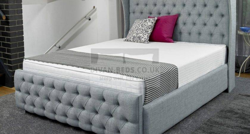 Lila Luxury Fabric Upholstered Bed Frame Guaranteed