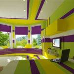 Lime Purple Bedroom Decoholic