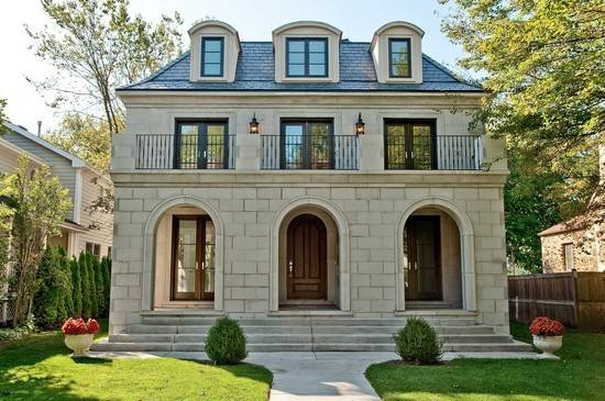 Limestone Home Exterior French