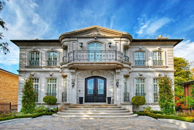 Limestone Home Traditional Exterior Toronto
