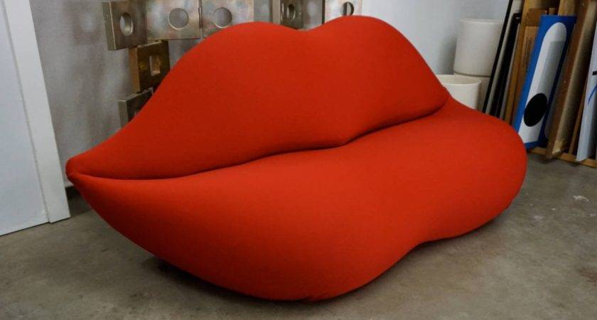 Lip Sofa Bocca Studio Marilyn Red Thesofa