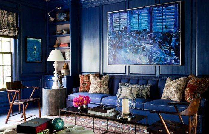 Lisa Mende Design Best Navy Blue Paint Colors Favs