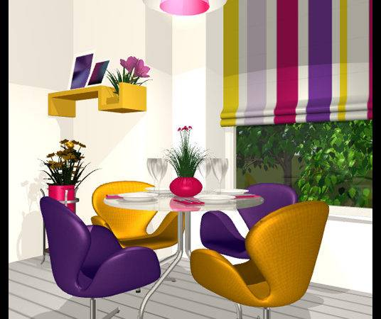 Live Home Using Color Wheel Finding Right