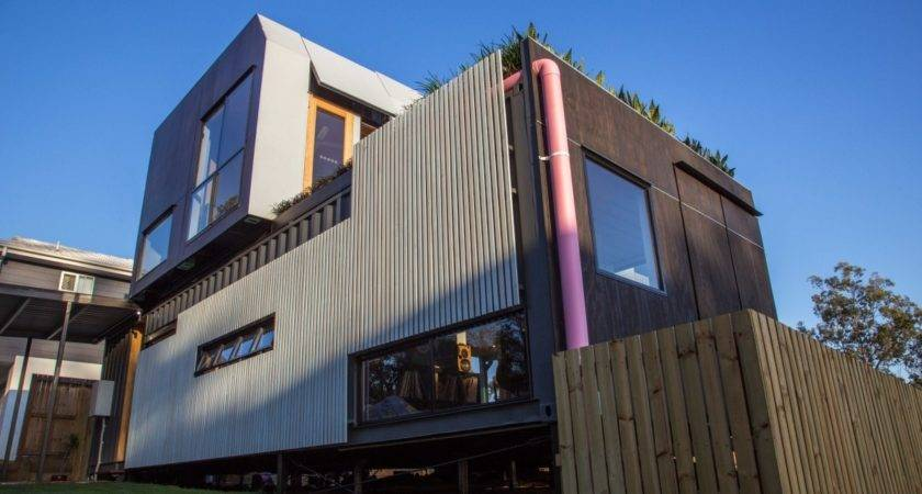 Live Shipping Container House Design