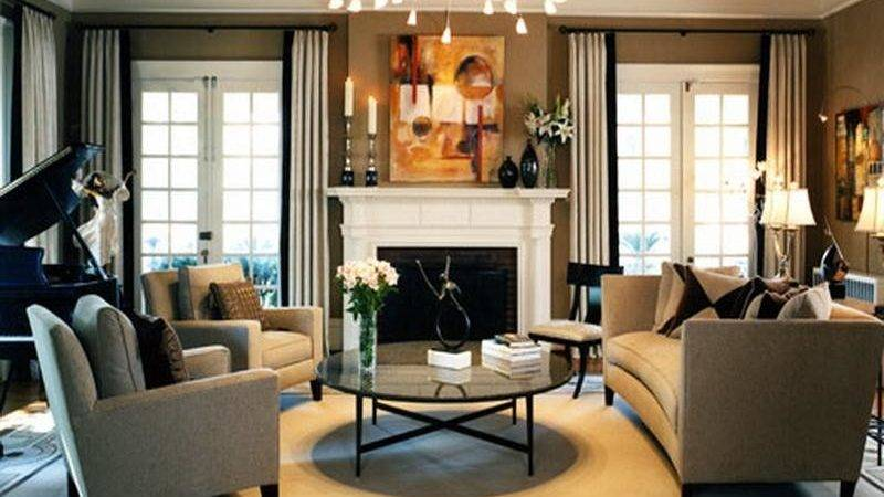 Living Room Best Fireplace Decorating Ideas