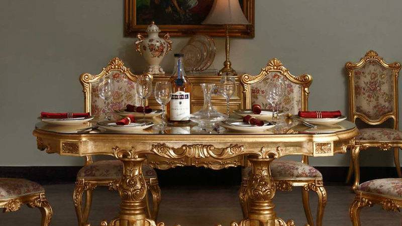 Living Room Classic Furniture French Style Table