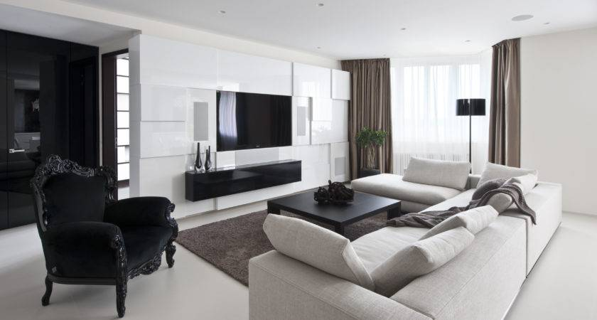 Living Room Classy Modern Small