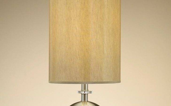 Living Room Contemporary Table Lamps Round Within