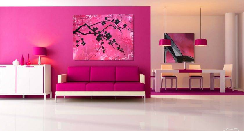 Living Room Decorating Large Wall High Ceiling