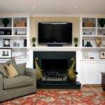 Living Room Double Tall White Wooden Bookcase Three