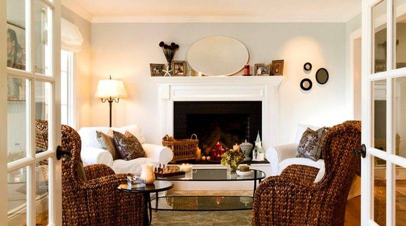 Living Room Furniture Ideas Fireplace