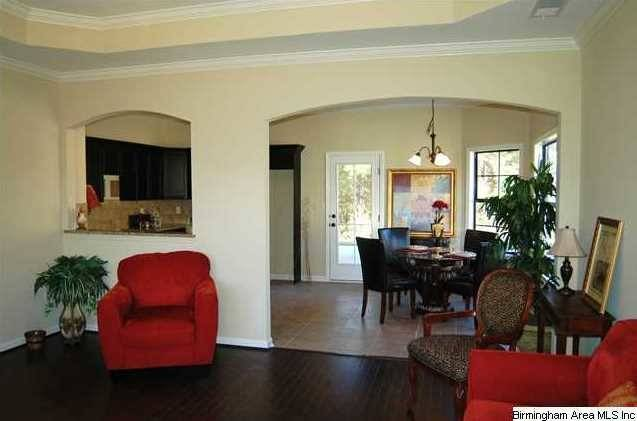 Living Room Have Hardwood Flooring Like Home