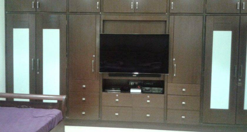 Living Room Interior Design Cabinets