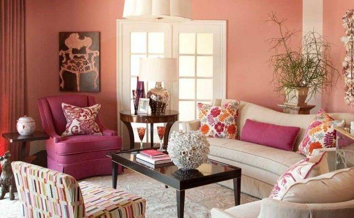 Living Room Make Your Sweet Happy Color