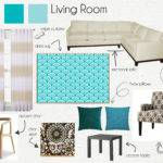 Living Room Mood Board Playuna