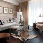 Living Room Tufted Leather Sofa Designs