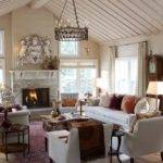 Living Room Vintage Style Decoration Ideas Home