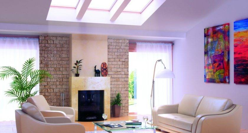 Living Rooms Skylights