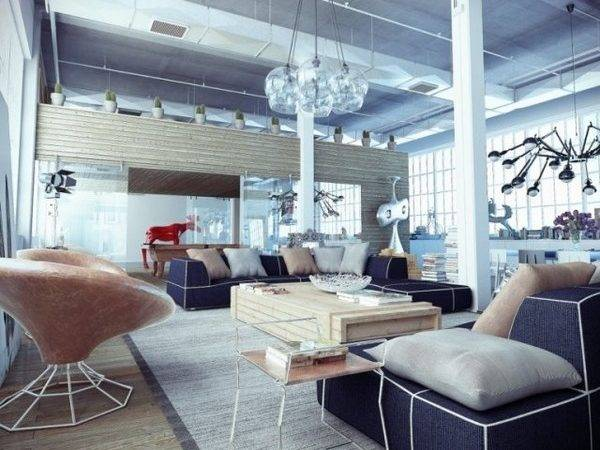Loft Decor Ideas Furnish Modern Apartment