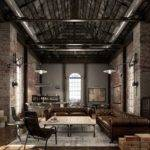 Loft Stile Industrial Living Room