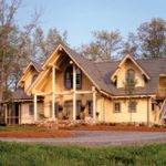 Log Home Rustic Country House Plans Barn Homes