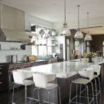 Long Kitchen Island Contemporary Design Group