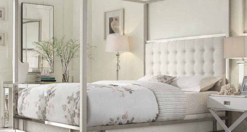 Look Less Swanky Elegant Four Poster Bed