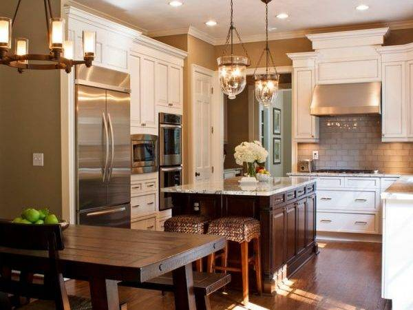 Look Traditional Contemporary Kitchens
