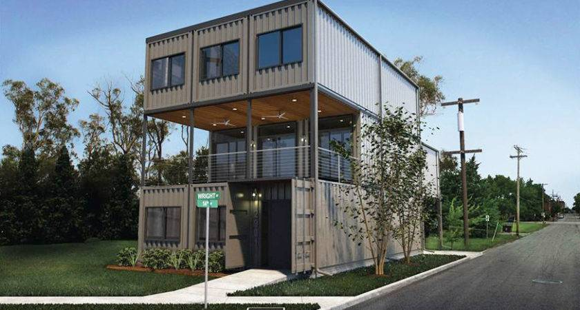 Louis City First Shipping Container Home Planned