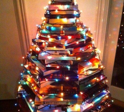 Lovely Christmas Book Tree Really Need
