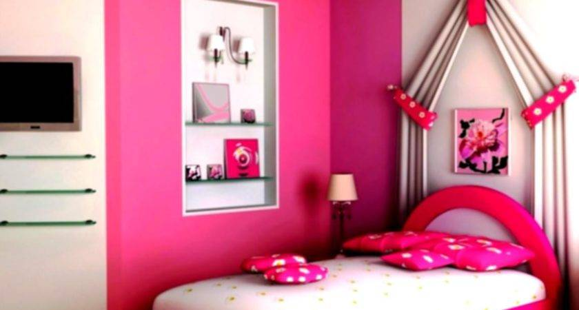 Lovely Decoration Ideas Bedrooms Girls Pink