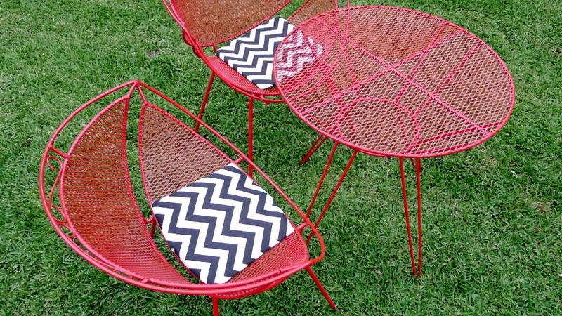 Lovely Retro Outdoor Furniture All Home Decorations
