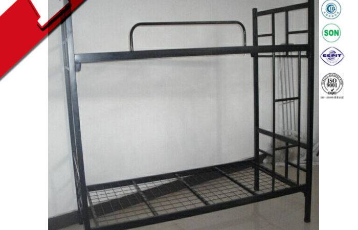 Luoyang Cheap Military Canopy Metal Double Bed Frame