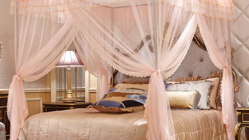 Luxury Bed Canopy More Detailed