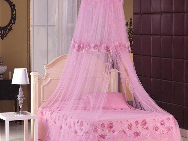 Luxury Canopy Bed Princess Castle Mosquito