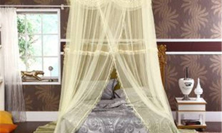 Luxury Canopy Bed Trendy Relaxing Bedroom Small