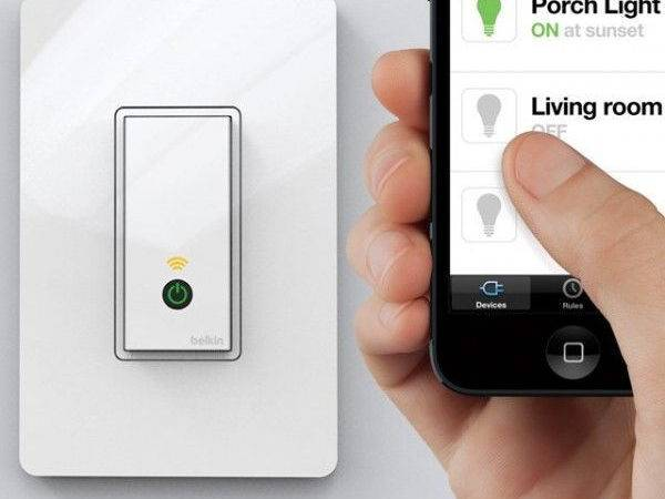 Luxury Smartphone Controlled Light Switch Home Ideas