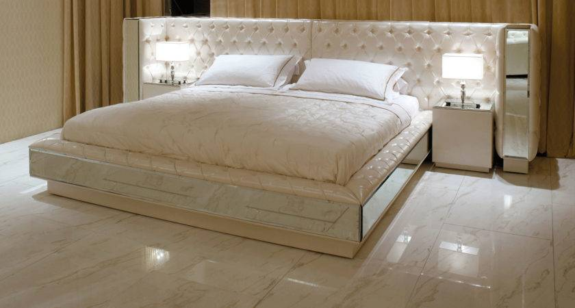 Luxury Upholstered Beds Classic Single Bed